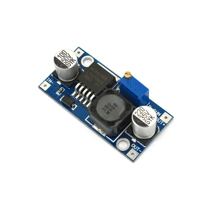MODULO STEP DOWN IN: 4,5~60VDC OUT: 3~35VDC