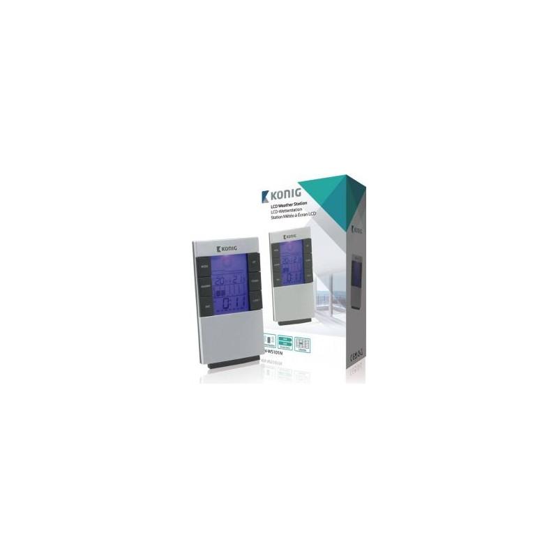 OROLOGIO LCD E STAZIONE METEOROLOGICA