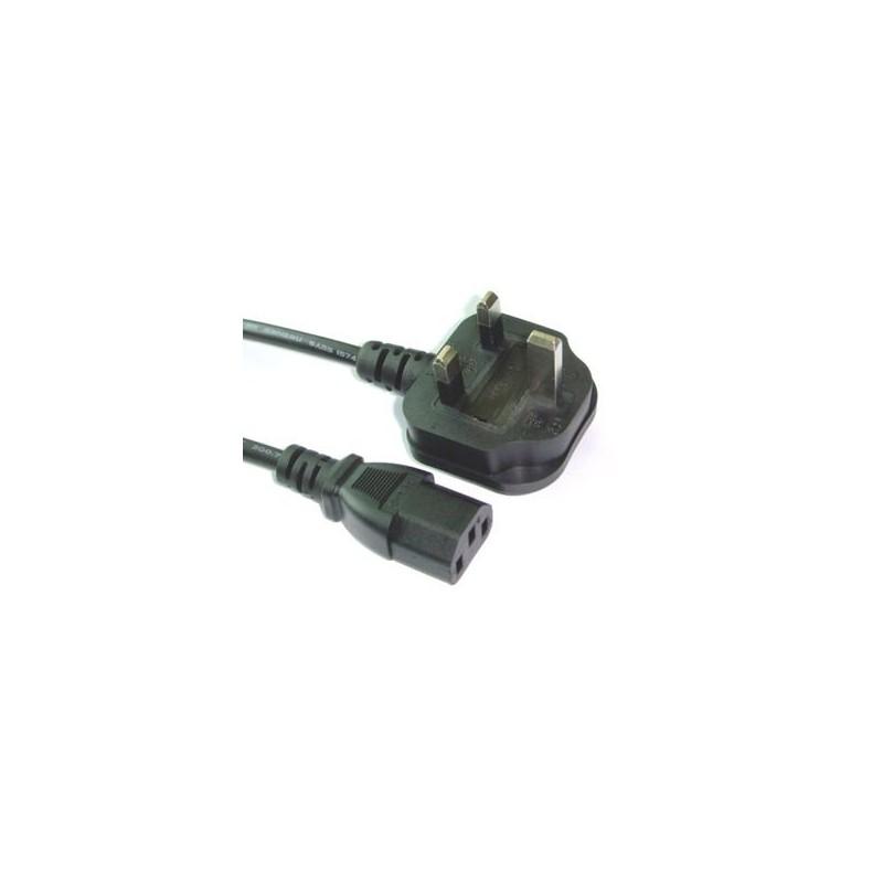 CAVO ALIMENTAZIONE PC  SPINA UK BS 1363A