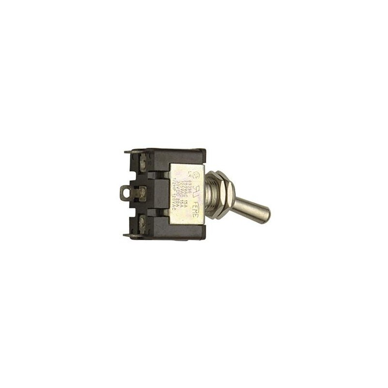 INTERRUTTORE ON/OFF 8A 250V BIANCO
