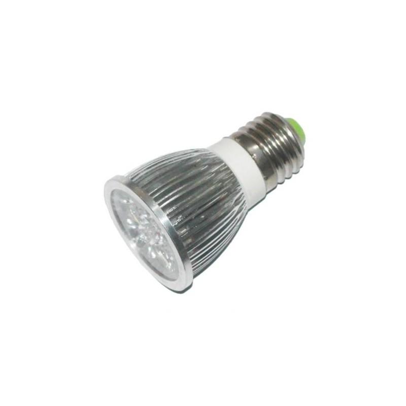 LAMPADA 4 LED ATTACCO E27 LUCE BIANCA 9W