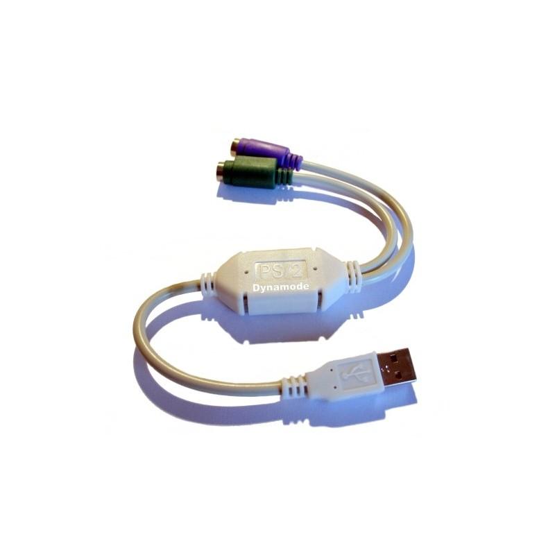 ADATTATORE USB/PS2
