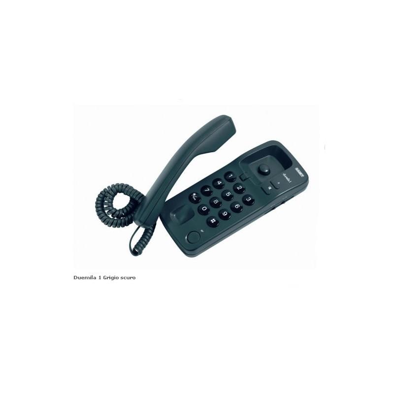 TELEFONO DUEMILA1 BLU/GRIGIO CHIAROSCURO