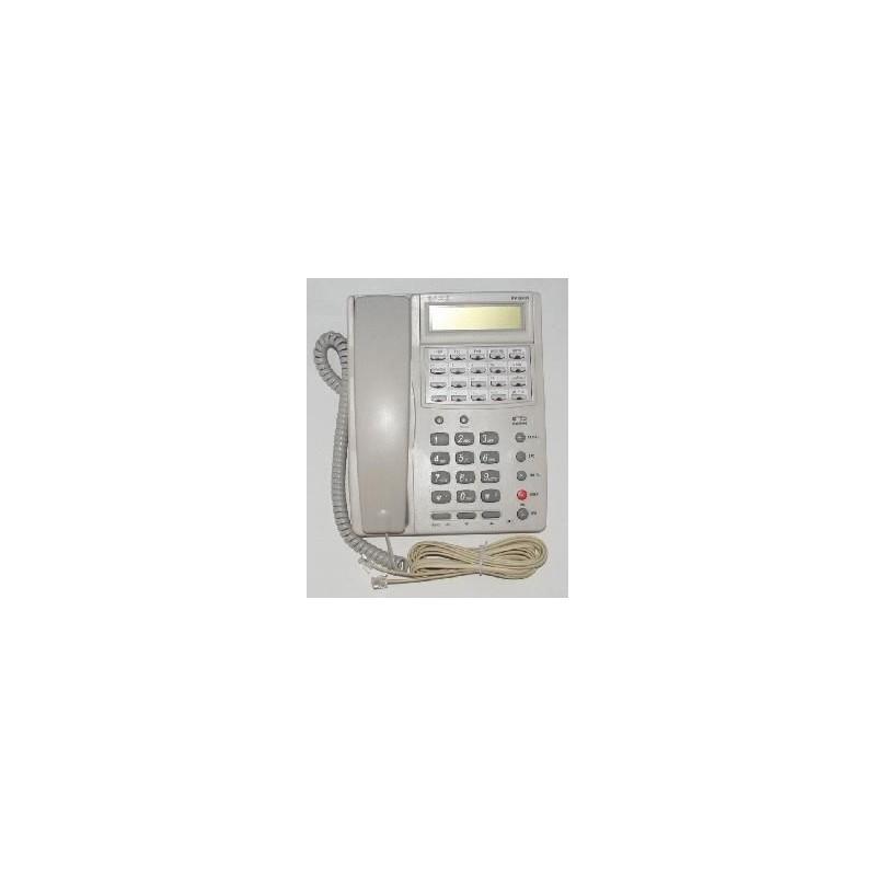 TELEFONO LCD 20 TASTI + VIVAVOCE BIANCO