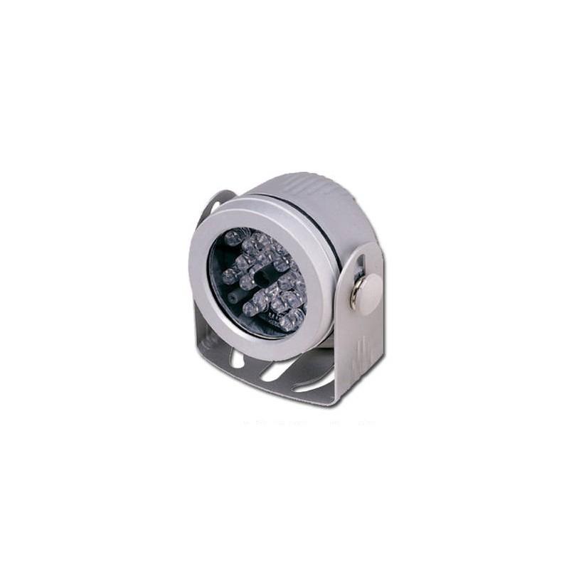 ILLUMINATORE IR PORTATA 10MT 24 LED IP67