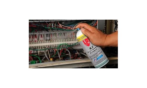 Prodotti per la pulizia di contatti elettrici. Pulizia apparecchiature