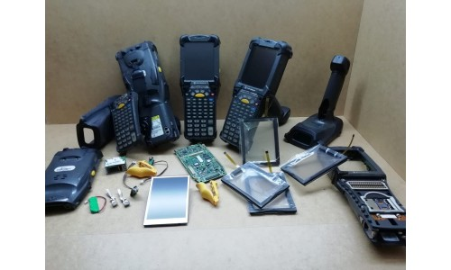 Lettori barcode Motorola Symbol e vari pezzi di ricambo